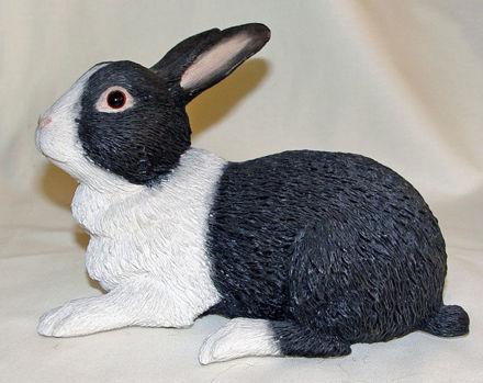 Image de Blake & White Rabbit - Lying