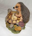 Image de Hedgehog with Turtle