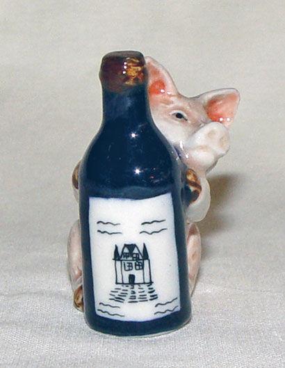 Image de Pig with bottle