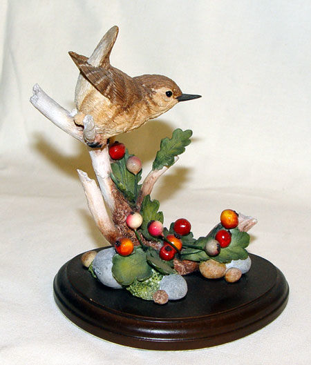 Image de Wren with Howthorn Berries